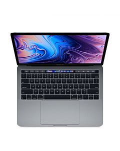 Laptop Apple MacBook Pro 13, ecran Retina, Touch Bar, procesor Intel® Core™ i5 2.40 GHz, 8GB, 256GB SSD, Intel Iris Plus Graphics 655, macOS Mojave, INT KB, Space Grey