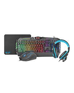 Fury Gaming 4 in 1 THUNDERSTREAK 2.0 (keyboard, mouse, headphones, mousepad)