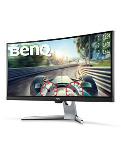 "Monitor gaming LED VA Benq 35"", Curbat, UWQHD, Display Port, Negru, EX3501R"