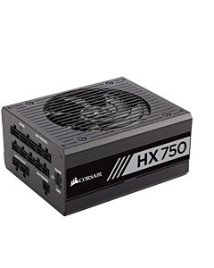 Sursa Corsair HX Series HX750, 750W, 80 Plus Platinum, Eff. 90%, No PFC, ATX12V v2.4, 1x135mm fan