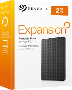 "HDD extern Seagate Expansion Portable 2TB, 2.5"", USB 3.0, Negru"