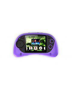 Consola jocuri portabila Serioux, ecran 2.7, 200 jocuri incluse, Mov
