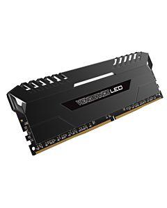 CR DDR4 32GB 2666 CMU32GX4M2A2666C16, Dual / Quad Channel, VENGEANCE LED, 32GB Kit (2 x 16GB), 2666 MHz, Color: Black, Led: White, Format: DIMM, XMP 2.0, PIN: 288.
