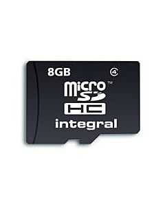 Card memorie Integral MICRO SDHC 8GB CL4
