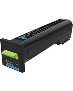 Cartus toner Lexmark 82K2XCE, cyan, corporate, 22k