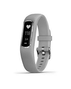 Smartwatch Garmin Vivosmart 4, Silver, Gray Band