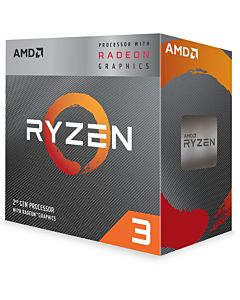 Procesor AMD Ryzen™ 3 3200G, 6MB, 4.0GHz, Radeon™ RX Vega 8 Graphics cu Wraith Stealth cooler