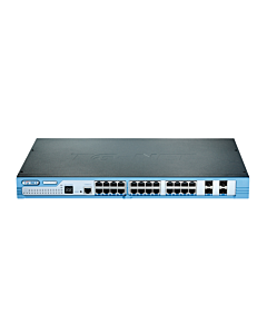 TG-Net GbE Managed Switch 24 x 1000BaseT , 4 x SFP, 10GbE option