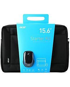 "Geanta  Laptop Acer Starter Kit 15.6"" Black + Mouse"