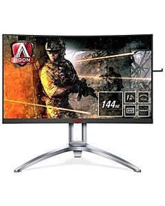 Monitor Gaming Curbat LED 27 AOC AGON AG273QCX QHD 1ms 144Hz Boxe
