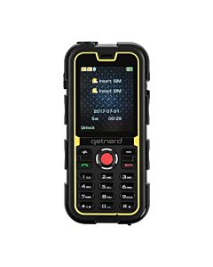 Telefon Mobil Getnord Walrus Rugged, IP68, Dual Sim, negru/galben