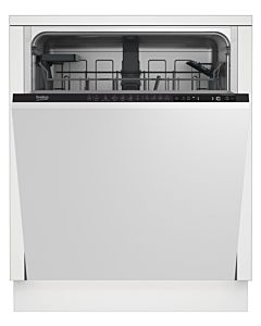 Masina de spalat vase incorporabila Beko DIN26421, 14 seturi, 6 programe, Motor ProSmart Inverter, Fast+, cos tacamuri flexibil, Clasa A, 60 cm