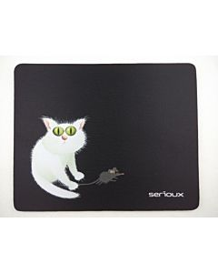 Mousepad Serioux MSP02, Cat and Mice, 250x200x3 mm