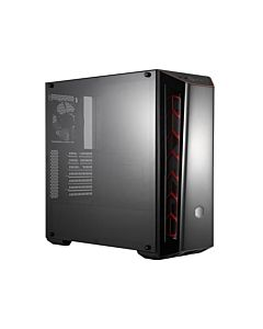 Cooler Master Chassis Masterbox MB520 Red, window