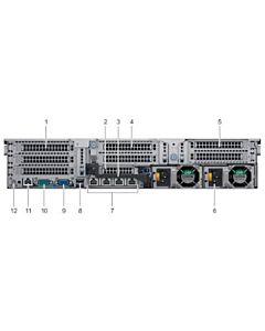 Server Dell PowerEdge Rack R740, Intel Xeon Silver 4110 2.1G, 16GB RDIMM, 120GB SSD SATA 6Gbps Hot-plug, Sursa 750W