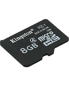 Card de memorie Kingston MicroSDHC, 8GB Class 4
