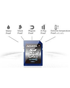 ADATA Premier SDXC UHS-I U1 64GB (Video Full HD) retail