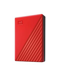"HDD extern WD, My Passport, 4TB, 2.5"", USB 3.2, compatibil cu Windows, Rosu"