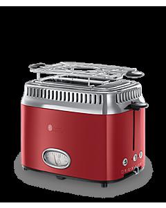 Toaster Russell Hobbs 21680-56 Retro, Rosu