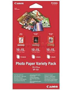 Hartie foto Canon VP-101S Variety Pack, 10 x 15 cm