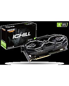 Placa video INNO3D GeForce RTX 2080 iChill X3 Jekyll, 8GB GDDR6, HDMI, 3xDP, USB-C