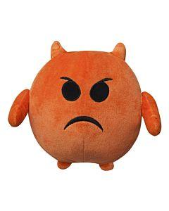 Jucarie de plus Emoticon Angry, 18 cm - NV7658