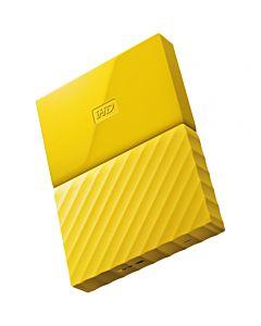 Hard disk extern WD My Passport New 1TB Yellow USB 3.0