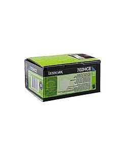 Lexmark 70C2HCE Toner Cartridge Cyan