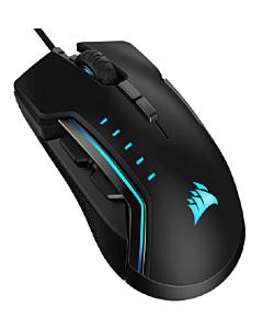 Corsair Glaive PRO RGB Gaming Mouse, Black, 18000 DPI, Optical