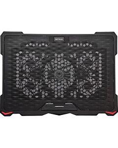 """Cooler laptop Serioux NCP035, 10-17.3"""", 5 ventilatoare, USB, negru"""