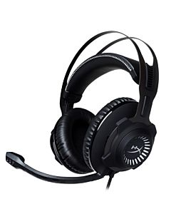 Casti cu microfon Kingston gaming, HyperX Cloud Revolver (Gun Metal), PC/PS4, 12Hz-28,000Hz, 30 ohm, jack 3.5mm, Negru