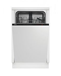 Masina de spalat vase incorporabila Beko DIS25011, 10 seturi, 5 programe, Clasa A+, 45 cm