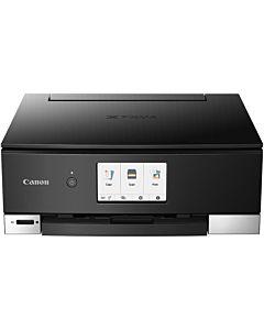 Multifunctional inkjet color Canon Pixma TS8250, A4, duplex, 15ppm mono, 10ppm color, scanner flatbed, USB, Wireless, negru