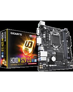 Placa de baza Gigabyte H310M S2V 2.0, DDR4 2666MHz, PCI-E 3.0 x16
