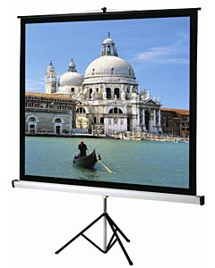 Ecran de proiectie cu trepied Sopar Junior, 125cm x 125cm, 1120, SP1120