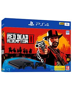 Sony Playstation 4 Slim 1TB + Red Dead Redemption 2 + 2nd controller