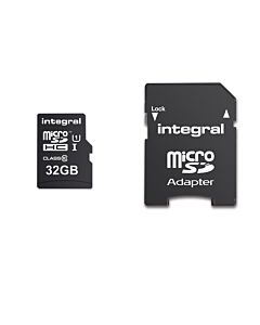 Card de memorie Integral micro SDHC/XC, CL10, 32GB, Ultima Pro, UHS-1