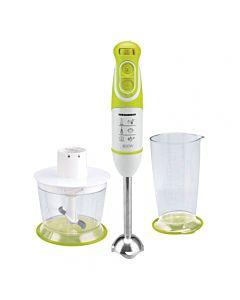 Mixer vertical Heinner Charm, 600W, 5 viteze, functie Turbo, tel, tocator, Alb/Verde