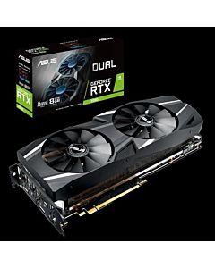 Placa video ASUS GeForce DUAL RTX 2080, 8GB GDDR6