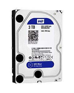 HDD WD Blue 3TB, 5400rpm, 64MB cache, SATA III