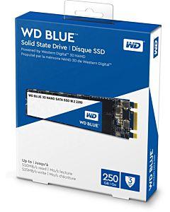 Solid State Drive (SSD) WD Blue 3D, 250GB, SATA III, M.2