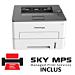 Imprimanta laser monocrom Pantum P3010DW A4, 32ppm, 1200dpi, 128MB ram, Wi-Fi,  USB2.0, LAN,